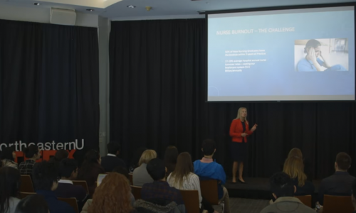 EntrepreNursing: Taking Care of You, and Business | Rebecca Love | TEDxNortheasternU