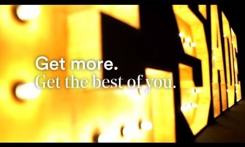 Get more. Get the best of you