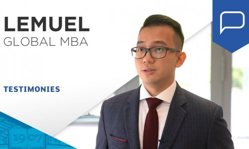 Lemuel - ESSEC Global MBA | ESSEC Testimonies