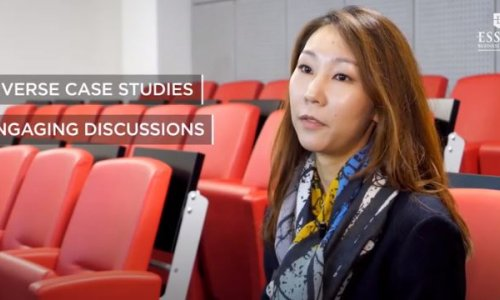 ESSEC Global MBA - Meeting with Elizabeth Kwon - Strategy & Management major | ESSEC Testimonies