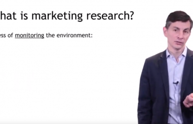 IESE POM Marketing Research Part 1