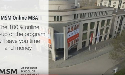Online MBA - Study where you want, and whenever it fits your busy schedule