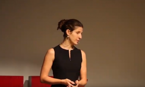 Ute Thiermann at TEDx Imperial College 2018: Why we are happier when we care