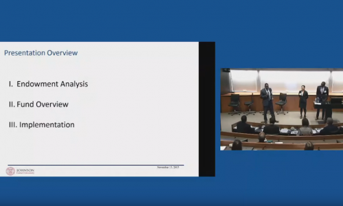 Yale Responsible Investing Conference 2015: Cornell Case Competition Presentation